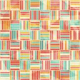 Uitstekend acacia naadloos patroon stock illustratie