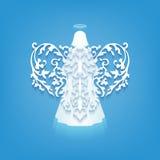 Uitstekend Angel Wing Royalty-vrije Stock Afbeeldingen