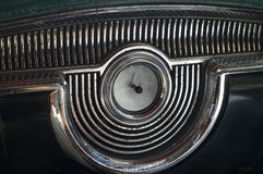 Uitstekend autobinnenland royalty-vrije stock afbeeldingen