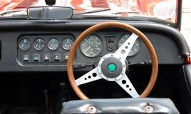 Uitstekend autodashboard stock foto