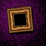 Uitstekend baguetteframe Royalty-vrije Stock Foto