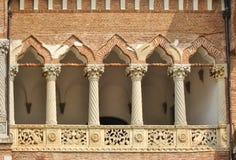 Uitstekend balkon Stock Fotografie