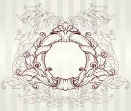 Uitstekend barok frame Royalty-vrije Illustratie