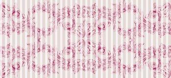 Uitstekend barok patroon De keizerachtergrond van het stijl Vectordecor Luxe klassiek ornament Koninklijke Victoriaanse textuur v Royalty-vrije Stock Foto