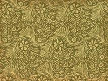 Uitstekend behang - bladeren en takken Royalty-vrije Stock Foto's