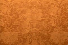 Uitstekend behang met sjofel tapijtwerkpatroon Stock Fotografie