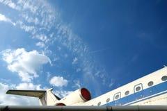Uitstekend Bejaard Vliegtuig Royalty-vrije Stock Foto's