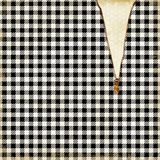Uitstekend Bijenstal Gevormd Document - Uitstekende Bijen - Bijenkoningin - Hommel - Boerderijstijl - Zwarte - Wit royalty-vrije stock afbeelding