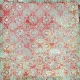Uitstekend bloemen achtergrondKerstmisthema stock fotografie