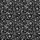 Uitstekend Bloemen naadloos patroon Stock Foto