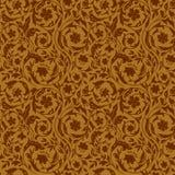Uitstekend Bloemen naadloos patroon Royalty-vrije Stock Afbeeldingen