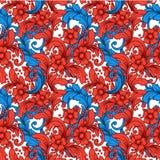 Uitstekend bloemen naadloos patroon Stock Afbeeldingen
