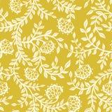 Uitstekend bloemen naadloos patroon Stock Afbeelding
