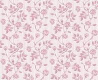 Uitstekend bloemen naadloos patroon met klassieke hand getrokken rozen Royalty-vrije Stock Afbeeldingen