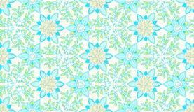 Uitstekend bloemen naadloos patroon Vector Naadloze textuur met bloemen Eindeloos bloemenpatroon Royalty-vrije Stock Foto