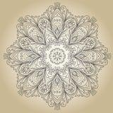 Uitstekend bloemenframe Element voor ontwerp Stock Afbeelding