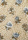 Uitstekend bloemenmateriaal Royalty-vrije Stock Foto's