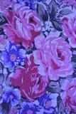 Uitstekend bloementafelkleed Stock Fotografie