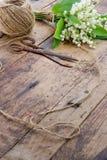 Uitstekend boeket van de lentebloemen royalty-vrije stock foto's