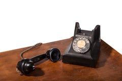 GPO 332 uitstekende telefoon - die op wit wordt geïsoleerd) Stock Afbeeldingen