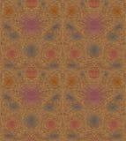 Uitstekend bruin naadloos patroon Royalty-vrije Stock Fotografie