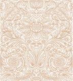 Uitstekend bruin naadloos patroon Royalty-vrije Stock Foto