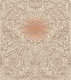Uitstekend bruin naadloos patroon Royalty-vrije Stock Foto's