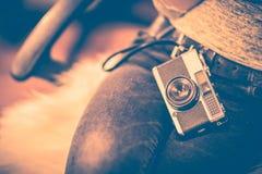 Uitstekend Cameraconcept Royalty-vrije Stock Foto's