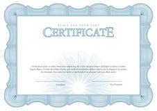 Uitstekend Certificaat Malplaatjediploma's, munt Stock Foto's