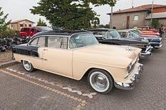 Uitstekend Chevrolet Bel Air van de jaren '50 Royalty-vrije Stock Foto's