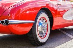 Uitstekend Chevy Corvette Royalty-vrije Stock Fotografie