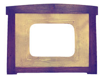 Uitstekend Daguerreotype-erakader stock afbeelding