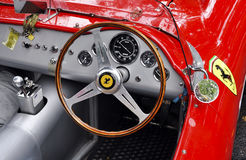 Uitstekend dashboard Ferrari Royalty-vrije Stock Afbeelding