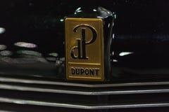 Uitstekend de autoembleem van Dupont Royalty-vrije Stock Fotografie