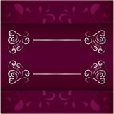 Uitstekend de kaders vectorontwerp van de huwelijksuitnodiging royalty-vrije stock afbeeldingen