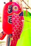Uitstekend de pastelkleur creatief textuur en patroon van de lampbaksteen stock foto
