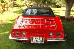 Uitstekend de Pijlstaartrogkorvet van Auto 1973 Chevrolet Stock Foto