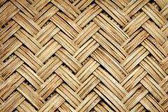 Uitstekend de textuurbeeld van het mandweefsel royalty-vrije stock afbeelding