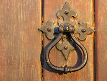 Uitstekend deurhandvat Royalty-vrije Stock Foto