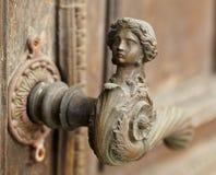 Uitstekend deurhandvat Stock Fotografie