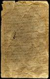 Uitstekend document Royalty-vrije Stock Fotografie