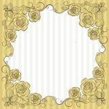 Uitstekend document kader royalty-vrije illustratie