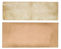 Uitstekend document teken Royalty-vrije Stock Foto's