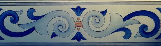 Uitstekend en decoratief patroon stock foto