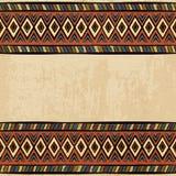 Uitstekend etnisch naadloos ornament als achtergrond royalty-vrije illustratie