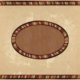 Uitstekend etnisch naadloos ornament als achtergrond stock illustratie