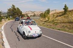 Uitstekend Fiat 500 Royalty-vrije Stock Fotografie