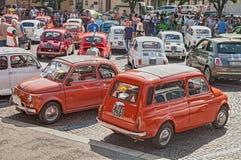 Uitstekend Fiat 500 Stock Afbeelding