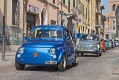 Uitstekend Fiat 500 Abarth Stock Foto's