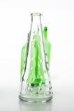 Uitstekend flessenontwerp Stock Afbeeldingen